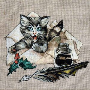 Chat va Broderie
