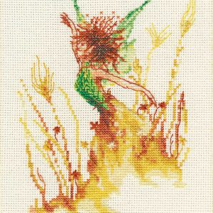 Little Fairy of The Wheats Embroidery