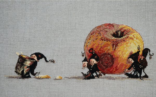 Pomme Broderie