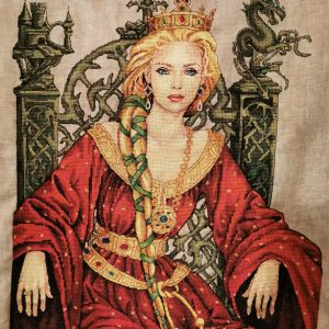 Guinevere embroidery