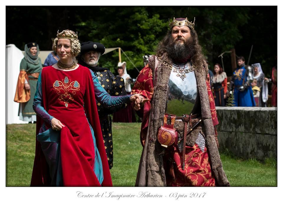 Arthur and Guinevere Comper