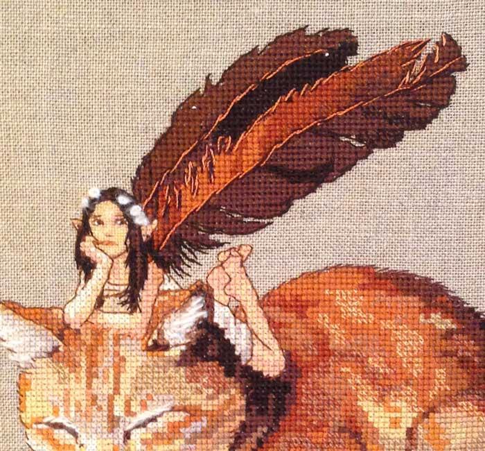 Fairycat broderie